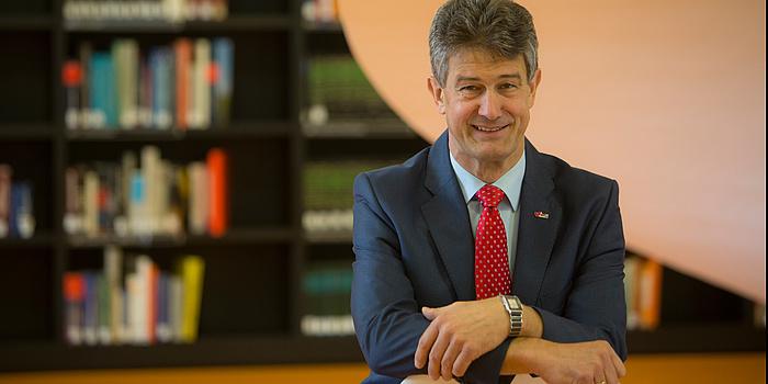 Harald Kainz, Rektor der TU Graz.