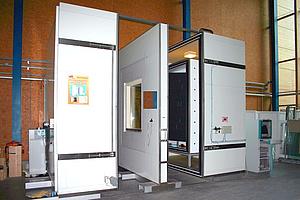 Hotbox U-Wert Bestimmung Heizkastenverfahren