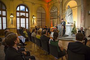 akademische Feier in der Aula der TU Graz