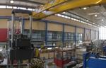 Blick in die Laborhalle für Konstruktiven Ingenieurbau
