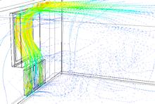 Multiphysik Simulation, Kondensation Fenster