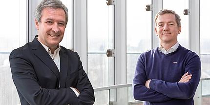Günter Getzinger und Alexander Passer