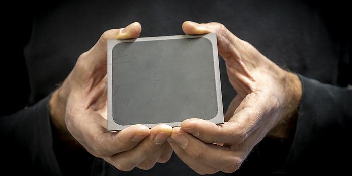 Eine Hochtemperaturbrennstoffzelle.