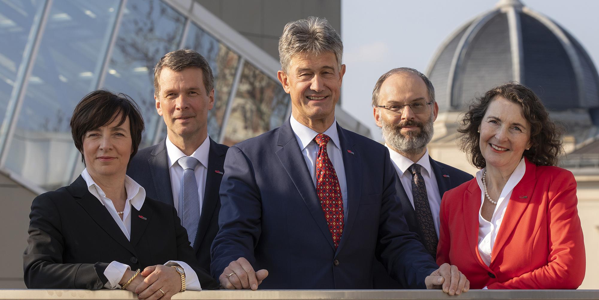 Rektoratsteam der TU Graz