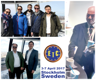 Members of the institute presented results of their work at the 12th European Turbomachinery Conference in Stockholm