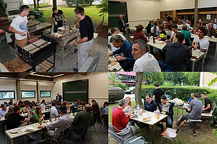 Pictures from our last annual barbecue! Thanks to everyone for taking part! And a special thanks to our organizers and grill masters!