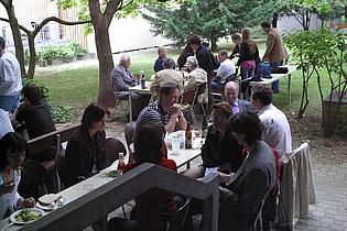 Annual institute's barbecue
