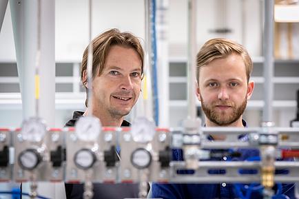 Two TU Graz researchers