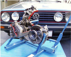 Picture of a VW-Golf Transmission