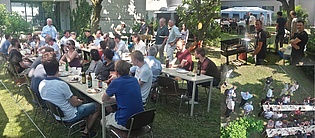 Some impressions from this year's institute barbecue where we could again welcome many former colleagues and friends of the institute