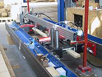 Ansicht der Zugprüfmaschine lignum_z_850 (GEZU)