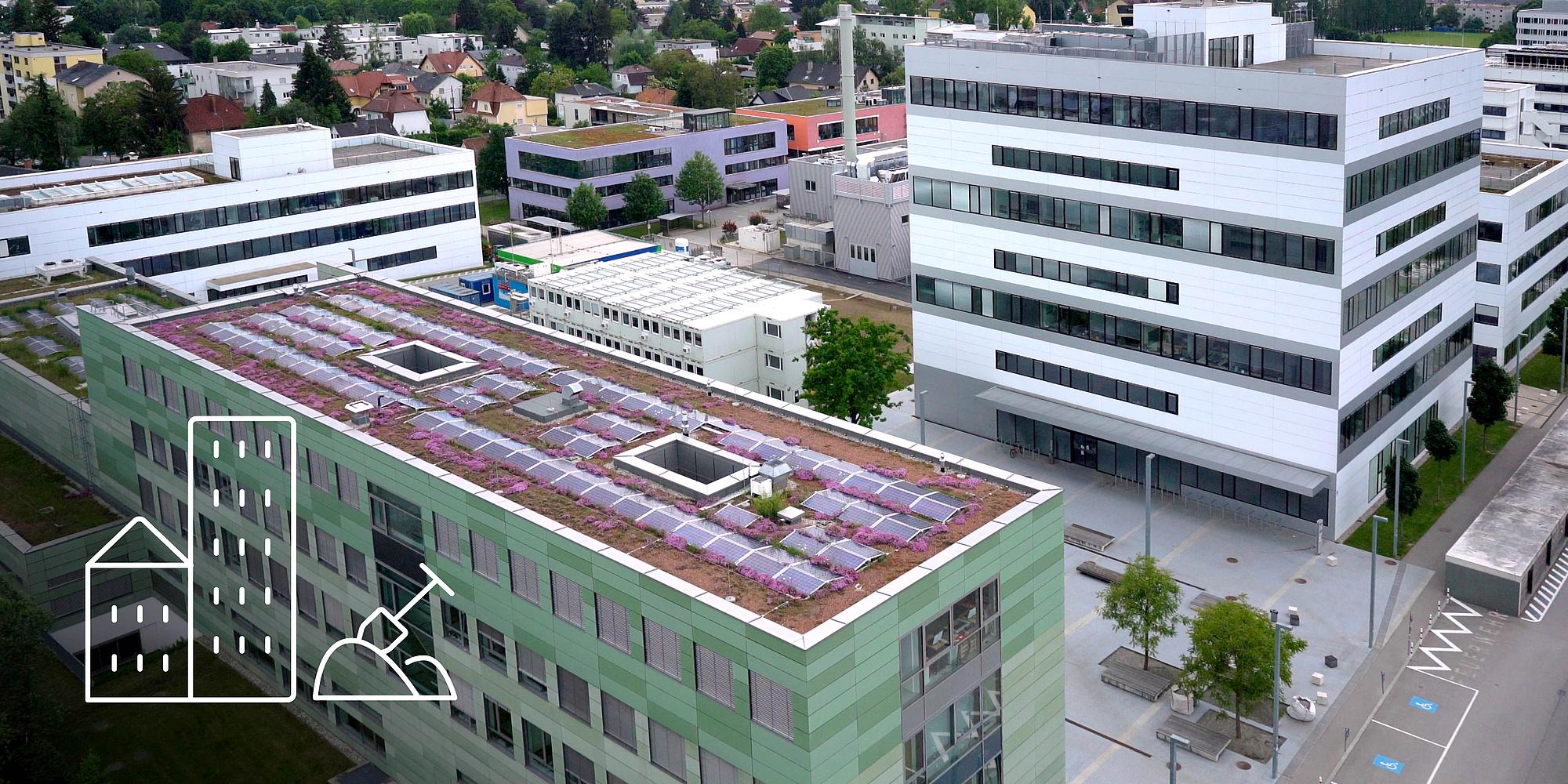 Buildings of TU Graz