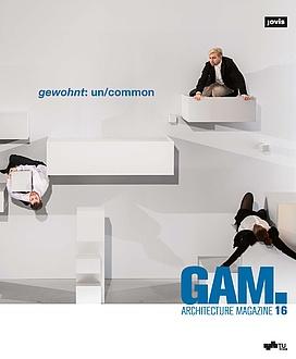 Architektur Magazin 16 mit der Aufschrift gewohnt: un/common