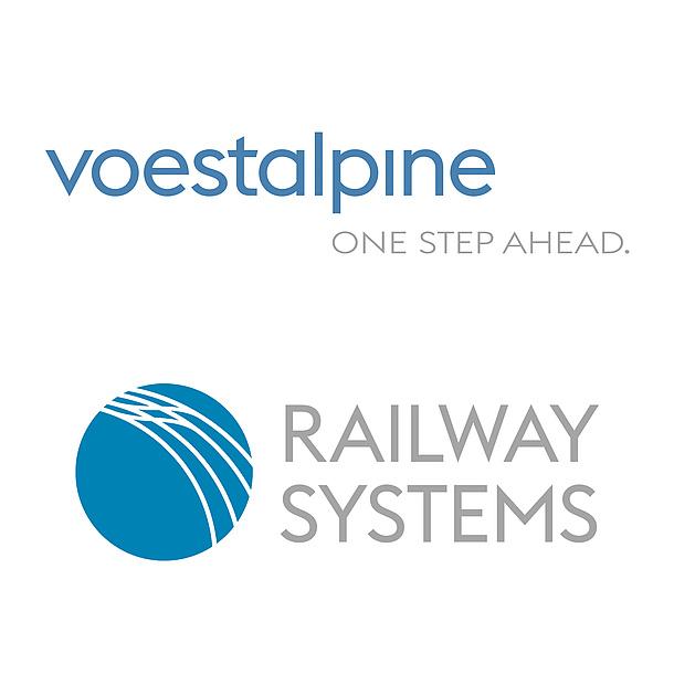 Logos Voestalpine und Railway Systems