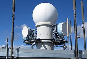 Radom of the weatherradar Zirbitzkogel