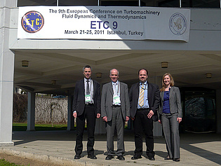 Members of the Institute participating in the 9th European Turbomachinery Conference in Istanbul, Turkey