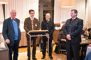 From left to right: H. Cerjak, C. Sommitsch, N. Enzinger, P. Mayr
