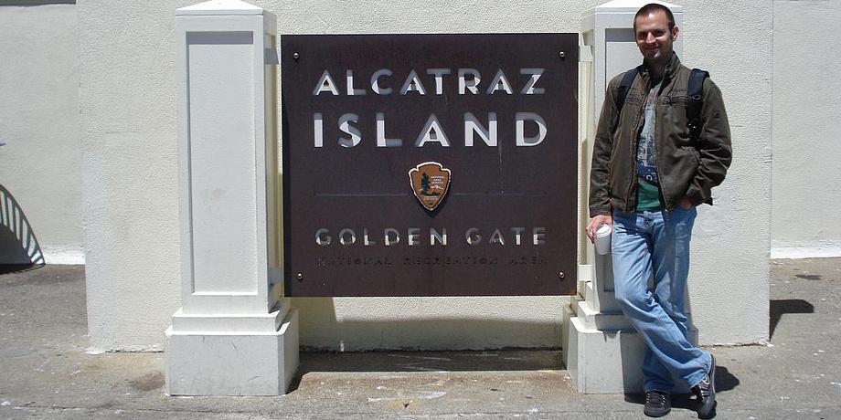 Josip Bozic at a business trip to San Francisco.