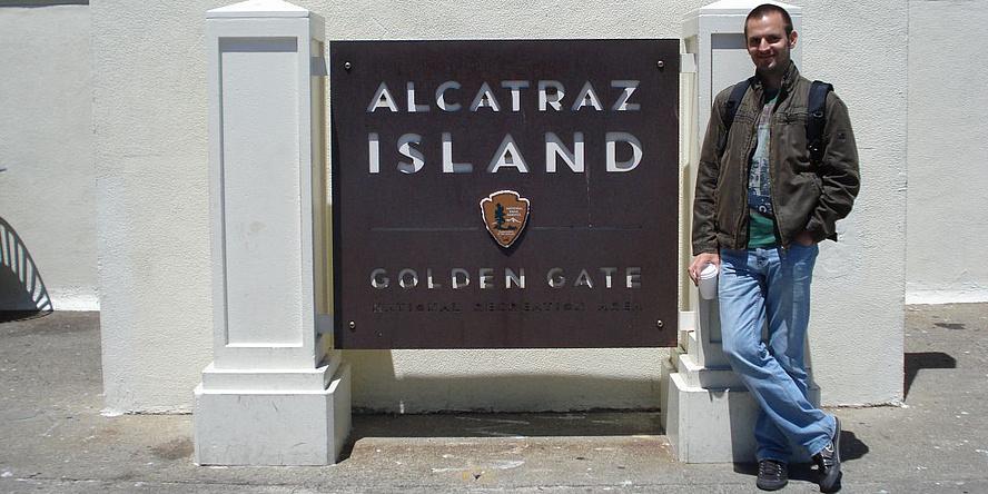 Josip Bozic bei einer Dienstreise nach San Francisco.