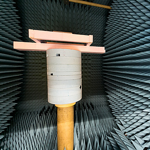 Objects in an acoustic room. Photo source: Oliver Wolf / JS Österreich GmbH & Co. KG