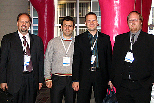 Mr. Göttlich, Mr. Paradiso, Mr. Schennach and Mr. Marn at the ASME conference in Montreal 2007