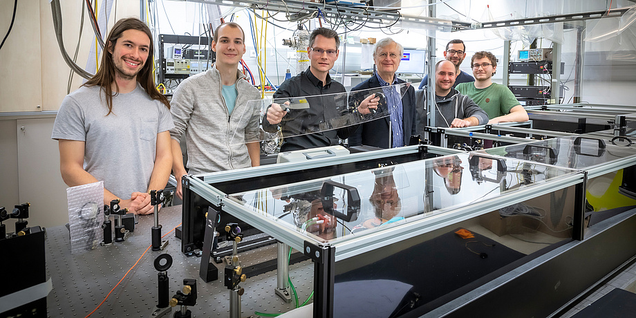 """Experimental physicist in the """"Femtosecond Laser Laboratory"""" at the Institute for Experimental Physics"""