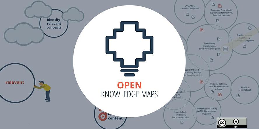 Logo von Open Knowledge Maps