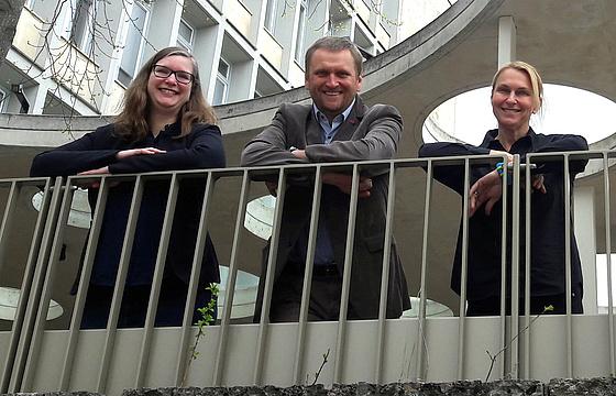 Three Teams at INE: Kerstin Lenk, Gernot Müller-Putz, Selina Wriessnegger
