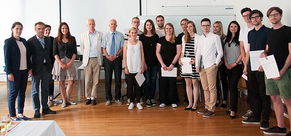 """Studierende und Jury der """"MasterClass"""" 2016"""