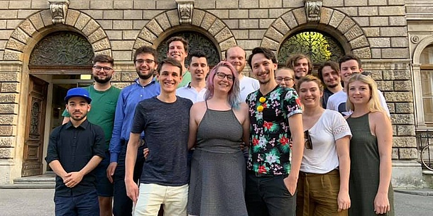 Elected student representatives of TU Graz