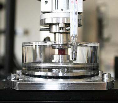 Sherver test machine