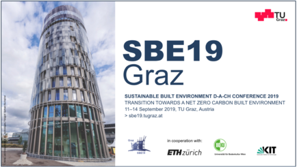 Titelbild SBE19 Graz mit Science Tower