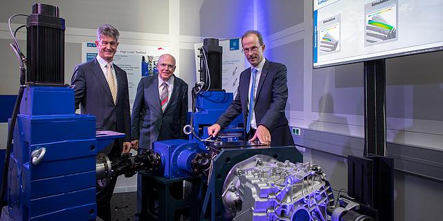 Banner Opening of AVL-TU Graz Transmission Centers