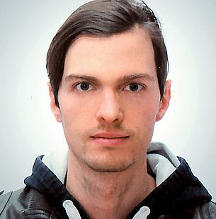 """Johannes Edelsbrunner, Studierender des Joint Doctoral Programme """"Visual Computing"""", TU Graz. Bildquelle: Edelsbrunner"""