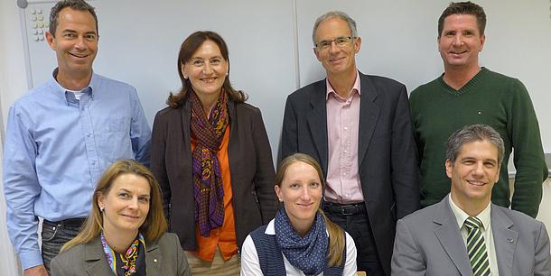 Steuerungsgruppe des RFID-Qualifizierungsnetzwerks, Bildquelle: Reszler – TU Graz