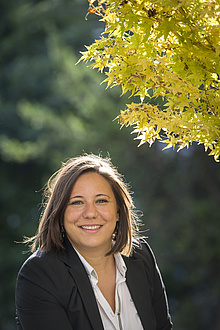 Anna Maria Coclite ist die erste Forscherin an der Fakultät für Mathematik, Physik und Geodäsie mit einem ERC Starting Grant und zugleich die erste Frau mit einem ERC Grant an der TU Graz