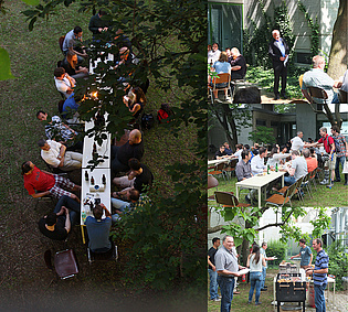 Pictures from this years annual barbecue!