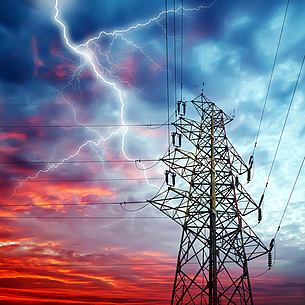 Power pylon with upcoming thunderstorm. Photo source: gjp311 - fotolia.com