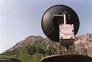 Avalanche radar at Arlberg
