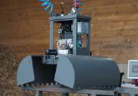 BioChipFeeding Prototyp des Hackschnitzelgreifers
