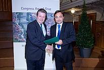 Übergabe des Congress Graz Awards an Hrn. Stigler