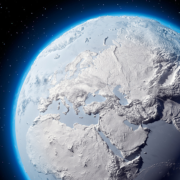 View of the Earth from outer space. Source: Anton Balazh – Fotolia.com