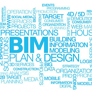 Building Information Modelling Word Cloud