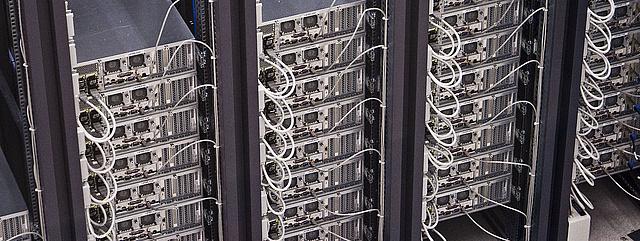 Bild eines Serverraums