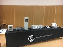 Aerosol equipment of TSI GmbH.