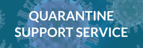 In case of a required self quarantine / compulsory home quarantine, the International Office - Welcome Center, supports you with a Quarantine Support Service.