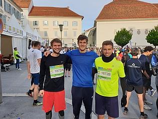 Philipp Bruckner, Simon Pramstrahler and Filippo Merli, our participants of the Business Run 2019