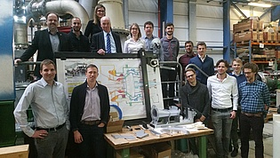 During the meeting of the OptiTCF project participants of MTU Aero Engines and General Electrics visited our laboratory.