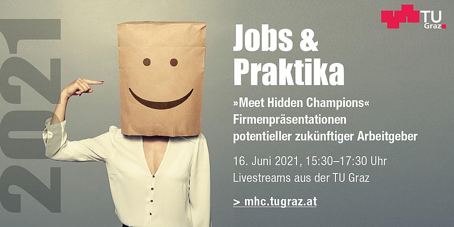 """Sujet zum Karriere-Event mit der Aufschrift """"Meet Hidden Champions""""."""