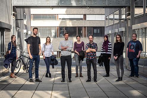Nine researchers from TU Graz
